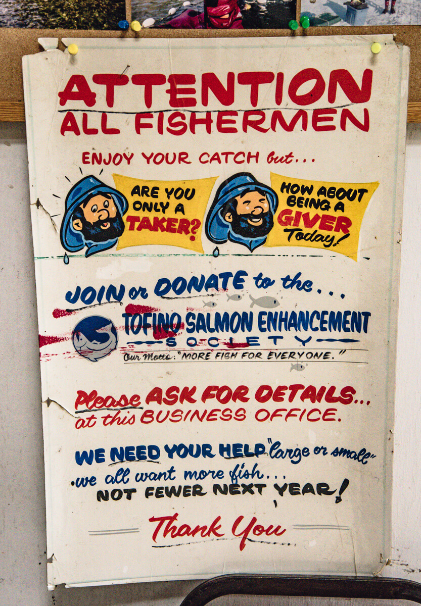 Tofino Fish Hatchery - Poster